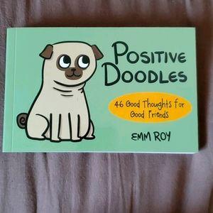 Positive Doodles Postcard Book